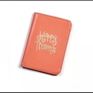 NWT Happy Everything Passport Cover Pouch Travel